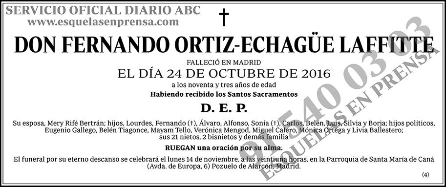Fernando Ortiz-Echagüe Laffitte
